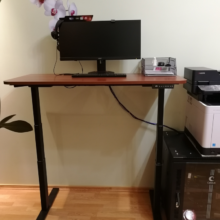 Владислав про стол для работы стоя/сидя