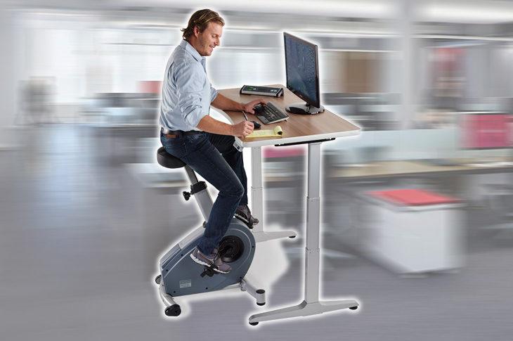 Велотренажер под офисный стол Ergosmart